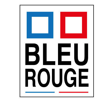 logo bleu rouge ets boulogne