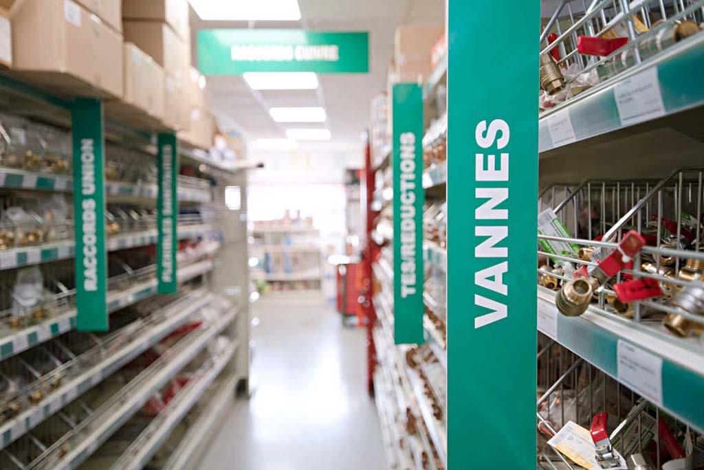 magasin sanitaire chauffage à Compiègne